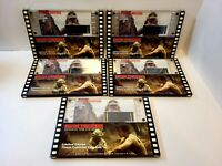 Lot Of 5 Empire Strikes Back Authentic 70mm Film Originals Limited Editions 1996