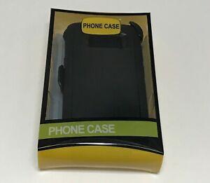For Samsung Galaxy S8/S8 Plus Case (Belt Clip Fits Otterbox Defender)Black