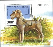 Benin block12 (complete issue) used 1995 Dogs