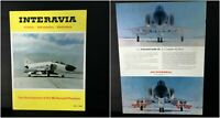 Vintage 1966 #5 INTERAVIA Magazine Development of McDONNELL PHANTOM F4 & II USAF
