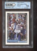 Shaquille O'Neal RC 1992-93 Topps #362 HOF Rookie GEM MINT 10