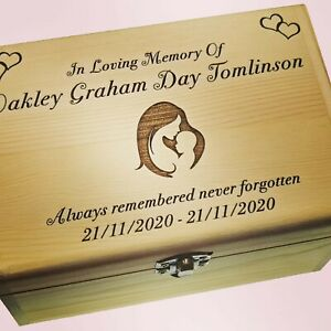 Baby Memorial Girl Or Boy Remembrance Personalised Tribute In Loving Memory