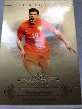 2015 Futera Unique Soccer Klas-Jan Huntelaar 13/20 Netherlands #072