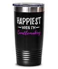 Candlemaking Happiest 20Oz Stainless Tumber Mug Funny Candle Maker Gift Idea