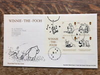 GB FDC 2010 Winnie The Pooh, Mini Sheet , Tallents Pmk