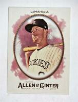 2017 Topps Allen and Ginter #6 DJ LeMahieu - NM-MT