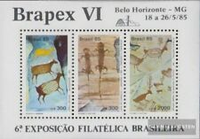 Brazil block67 (complete.issue.) unmounted mint / never hinged 1985 Stamp Exhibi