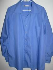 GEOFFREY BEENE WRINKLE FREE QUICK DRY LONG SLEEVE BUTTONFRONT SHIRT XXL 18 34/35