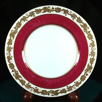 Wedgwood Whitehall Powder Ruby 8 Inch Salad Plates - W3994 - 1st QUality