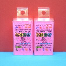 Oyumaru modeling Compound Moulding Stick [Pink] 12pcs/set
