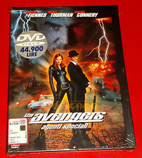 THE AVENGERS AGENTI SPECIALI (R Fiennes U Thurman S Connery) Dvd Snapper - NUOVO