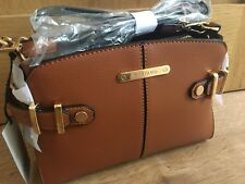 River Island blTan brown buckle side cross body bag new with tags