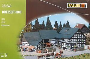FALLER 232360 N Dreiseit-Hof OVP + NEU