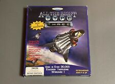 All the Right Type Three - Complete in Box - PC CD ROM Windows 95/98/ME/NT