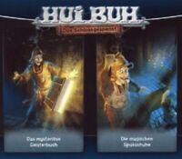 HUI BUH-DAS MYSTERIÖSE GEISTERBUCH & DIE SPUKSCHUHE;2 CD 34 TRACKS HÖRSPIEL NEU