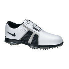 Nike Zoom Trophy II Mens Golf Shoes - White/silver Size 9 US