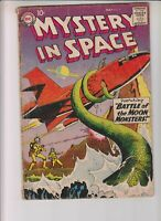 """Mystery In Space 51 G+ (2.5) 5/59 """"Battle of the Moon Monsters!"""""""