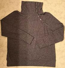 Synergy Organic Clothing Top Shirt Blouse Women Snap Neck  XL NWOT
