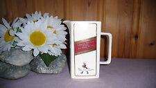 Vintage Ceramic Johnnie Walker Pitcher Decanter Jug Tartan Caraffe Scotch Whisky