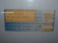 ROLLING STONES 1989 Concert Ticket Stub SULLIVAN STADIUM Foxboro MTV Very Rare
