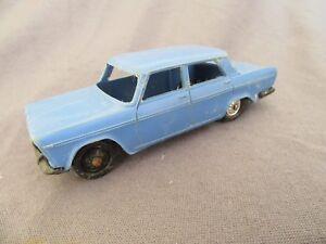 841F Rare Norev Plastique Série Baby 38 France Fiat 2300 Bleu 1:43
