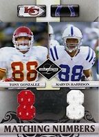 2007 Leaf Limited Football Jersey Singles (Pick Your Cards)