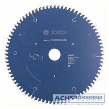 BOSCH Mutli Lame de scie 254mm Z80 TR-f pour scie circulaire à table GTS 10 J