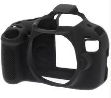 easyCover Canon EOS Rebel T5/1200D Black Protective Skin Camera Silicone Cover