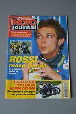 MOTO JOURNAL N°1613 HONDA CBF 500 ★ REGIS LACONI ★ ROSSI ★ MOTOGP WELKOM 2004 ★
