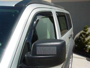Dodge Nitro 2007-2011 Wind deflectors In-Channel