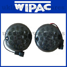 LAND ROVER DEFENDER SMOKE LED FOG & REVERSE LIGHT / LAMP + PLUG UPGRADE KIT SET