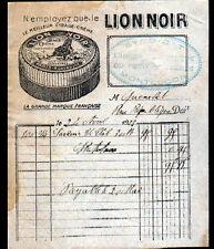 """MONTROUGE (92) USINE PRODUITS d'ENTRETIEN CIRAGE """"LION NOIR"""" en 1923"""