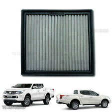 Stainless Hurricane Air Filter Power Fit Mitsubishi Triton L200 Xlt Ute 2015 17