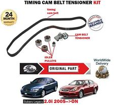 FOR SUBARU LEGACY 2.0 R RE EJ204 ENGINES 2005->NEW TIMING CAM BELT TENSIONER KIT