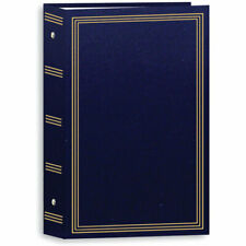 "Pioneer Stc-504 Photo Albums Pocket 3-Ring Binder Album - 4 x 6"" Navy Blue"