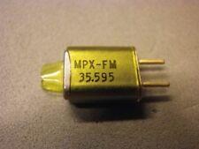 Quarz, Steckquarz, MPX-FM, 35.595, R605
