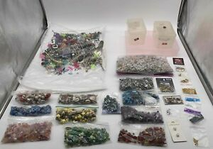 Arts and Crafts Bulk Lot of Assorted Supplies 8.8Lbs - Beads & More