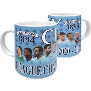 Manchester City League Champions 20/21 Mug
