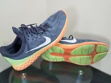 Nike Lunar Skyelux Mens Size 15 Gray / Green / Orange Running Shoes