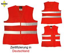 1 Warnweste orange  L Korntex Panne Unfallweste Sicherheitsweste Arbeitsschutz