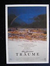 Filmplakatkarte cinema  Akira Kurosawas Träume