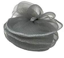 DRESSHAT Church Durby Party Royal Veil Ribbon Net Hat