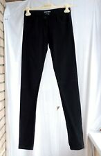600$ ANN DEMEULEMEESTER black slim skinny fit pants trousers jeans 34 XS 25-26