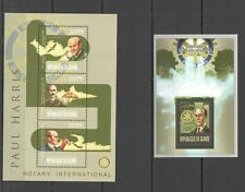 ST1311 2013 GUINEA FAMOUS PEOPLE PAUL HARRIS KB+BL MNH STAMPS