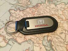 Honda Schlüsselanhänger Aufgeraut und Gefüllt auf Leder Auto Civic Nsx Accord