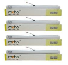4 Pcs Mehai T5 - 5W Slim Led Tube Light 1 Feet (300MM) For Home And Office