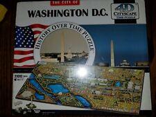 NEW 4D Cityscape Washington DC, USA Time Jigsaw Puzzle 1100+ pcs ages 14+