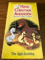 Hans Christian Anderson The Ugly Duckling VHS Tape Movie New / Sealed Cartoon