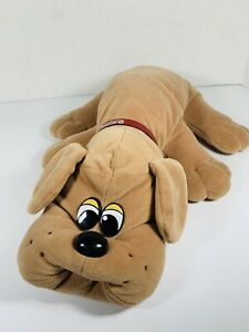 VTG Tonka Pound Puppy Plush Light Brown With Collar 18""