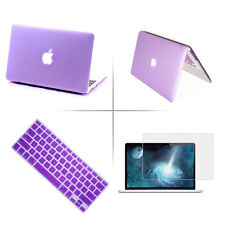 """Rubberized Hard Case+Keyboard Cover+LCD Film For Apple MacBook Pro/Retina 13.3"""""""